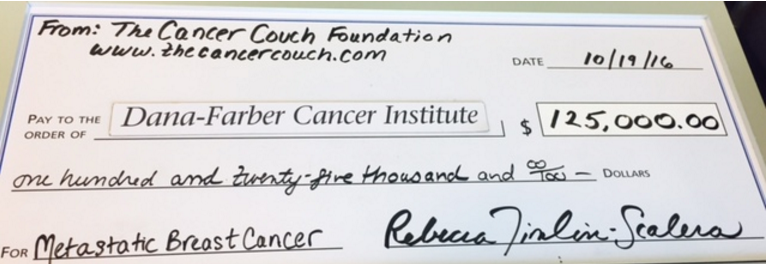 Donation to Dana-Farber Cancer Institute