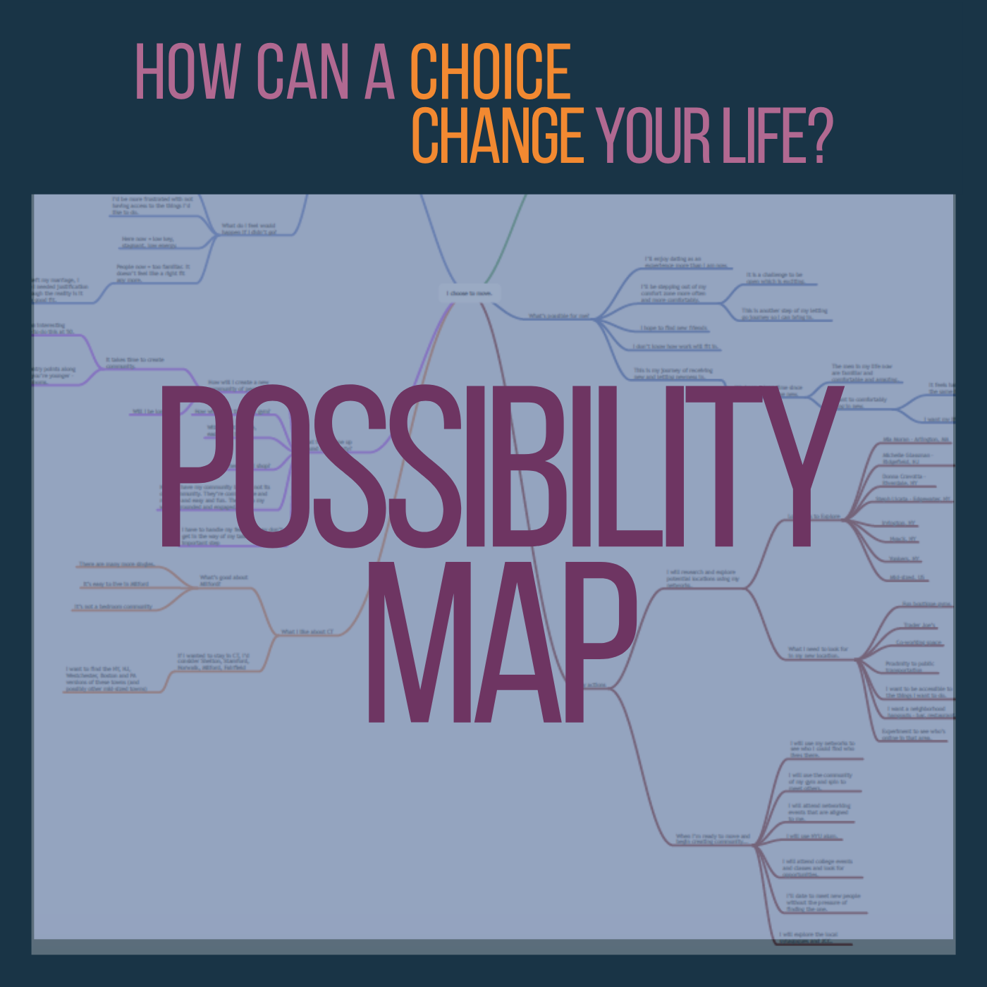 Exploration Map: How Can a Choice Change Your Life?